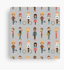 The Cool Kids Canvas Print