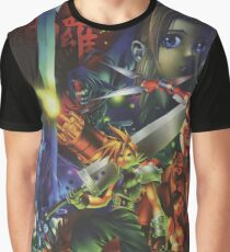 Final Fantasy 7 - Restored Poster Art Graphic T-Shirt