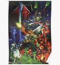 Final Fantasy 7 - Restored Poster Art Poster