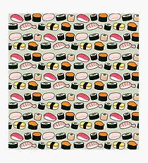 Oishi Sushi Pattern Photographic Print