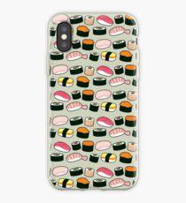 Oishi Sushi Pattern iPhone Case