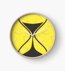 Summer Bee Print Apparel Clock