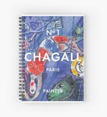 Marc Chagall No.1 Spiral Notebook