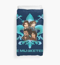 The Musketeer's Cartoons Duvet Cover