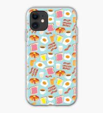 Breakfast Fun Pattern iPhone Case