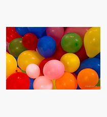 Ballons Photographic Print