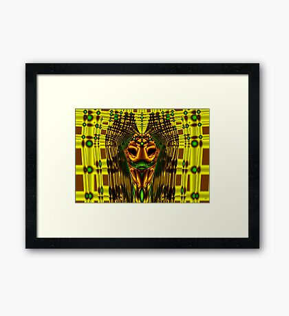 Egyptian Mummy Framed Print