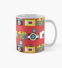 Colorful Toy Cameras Pattern Mug
