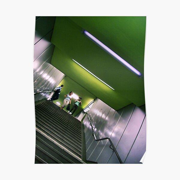 Apple Green Underground Poster