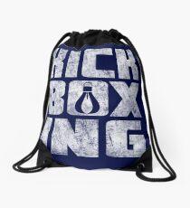 Kickboxing shirt Drawstring Bag
