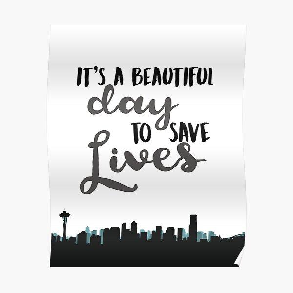 SAVE LIVES Poster