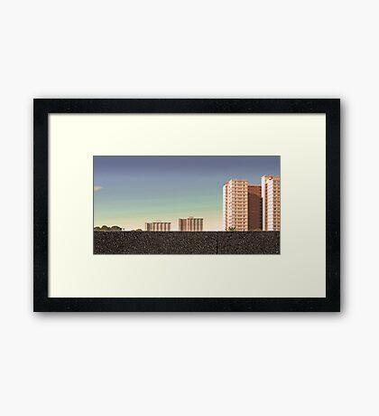 Housing Commission: Collingwood Framed Print
