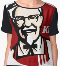 KFC Women's Chiffon Top