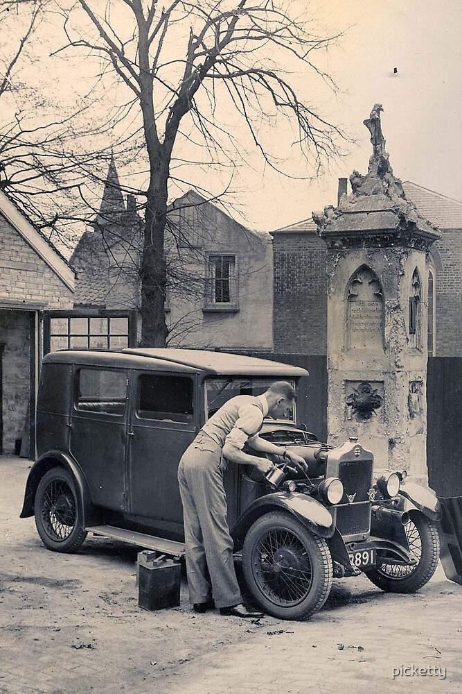 Uncle Bernard and his vehicle by picketty