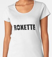 Roxette. Women's Premium T-Shirt