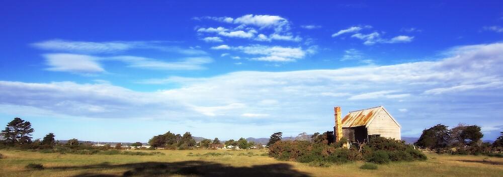Old House - Tamar Valley, Tasmania by Darren Post