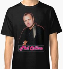Phil Collins. 80's Vibes. Classic T-Shirt