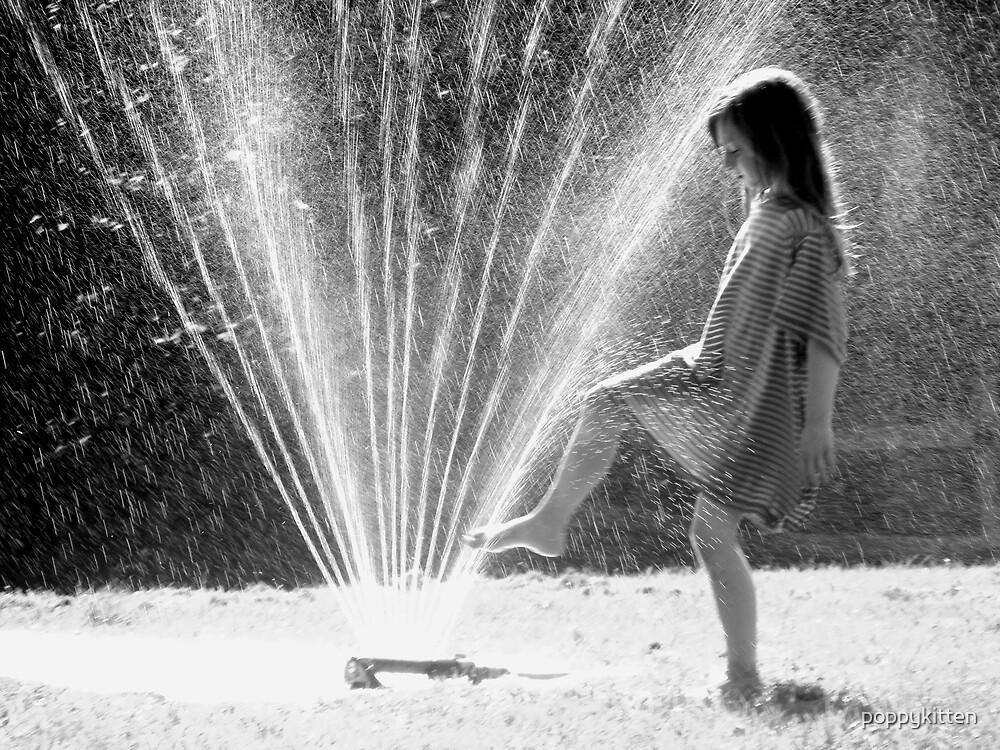 Testing the water! by poppykitten