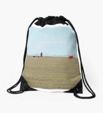 Sand Racer Drawstring Bag