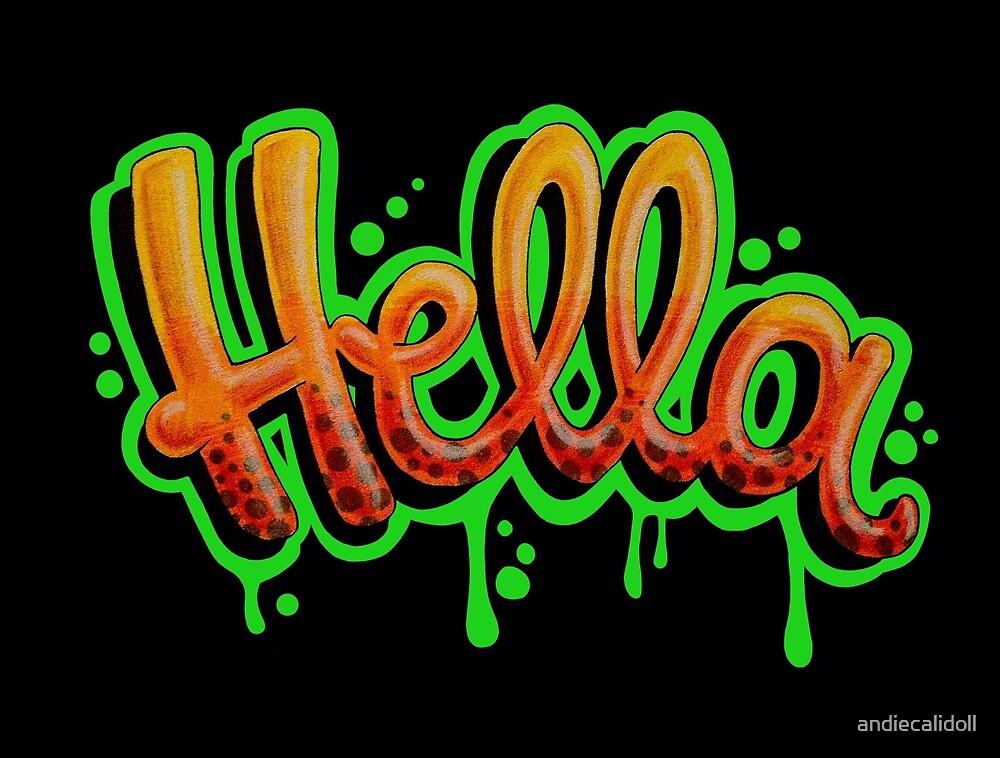 Hella [Green] by andiecalidoll