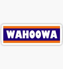 UVA wahoowa Sticker
