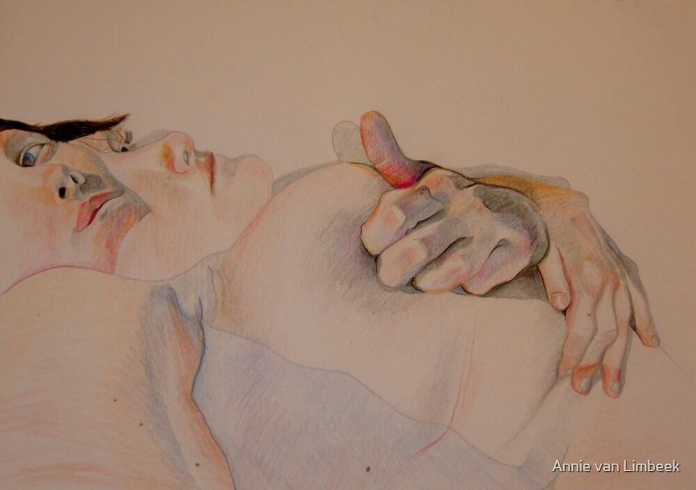 Untitled (Self study 9), 2008 by Annie van Limbeek