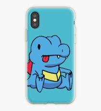 Derp Totodile iPhone Case