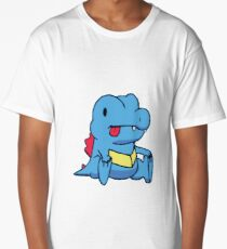 Derp Totodile Long T-Shirt