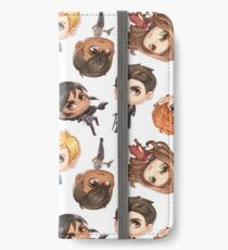 Six of Crows Pattern iPhone Wallet/Case/Skin
