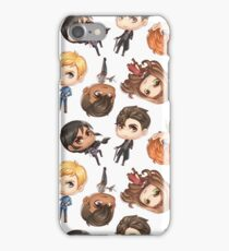 Six of Crows Pattern iPhone Case/Skin