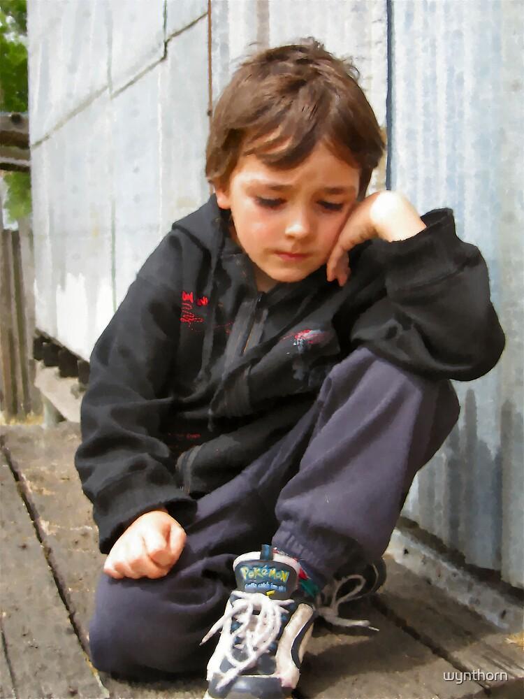 young meditation by wynthorn