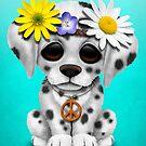 Niedlicher dalmatinischer Welpe Hippie von jeff bartels