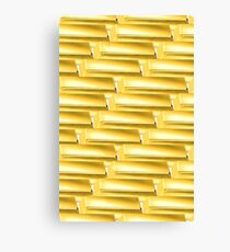 Only Gold Canvas Print