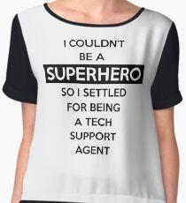 Sysadmin Super Hero Women's Chiffon Top
