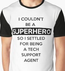 Sysadmin Super Hero Graphic T-Shirt