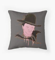 Cowboy Time Cushion Throw Pillow