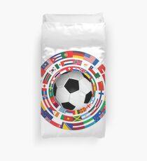 Funda nórdica World Flag Football Soccer Cup Collection