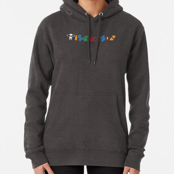Wisconsin Compiliation Pullover Hoodie
