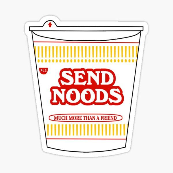 Envoyer des Noods Sticker