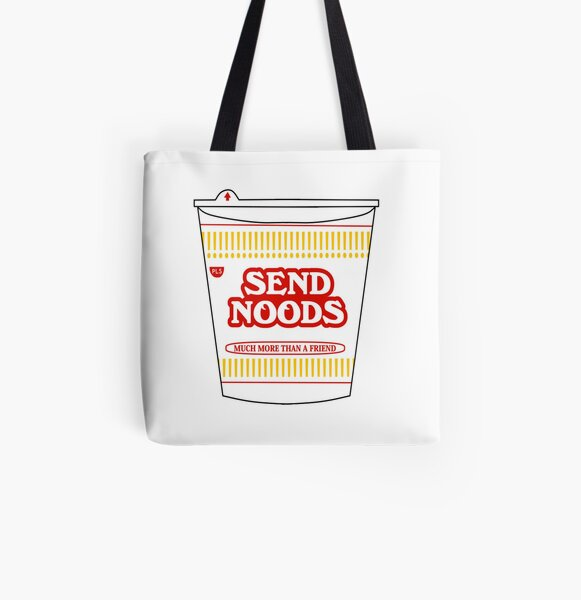 Send Noods All Over Print Tote Bag