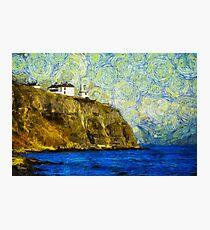 Starry Blackhead Lighthouse Photographic Print