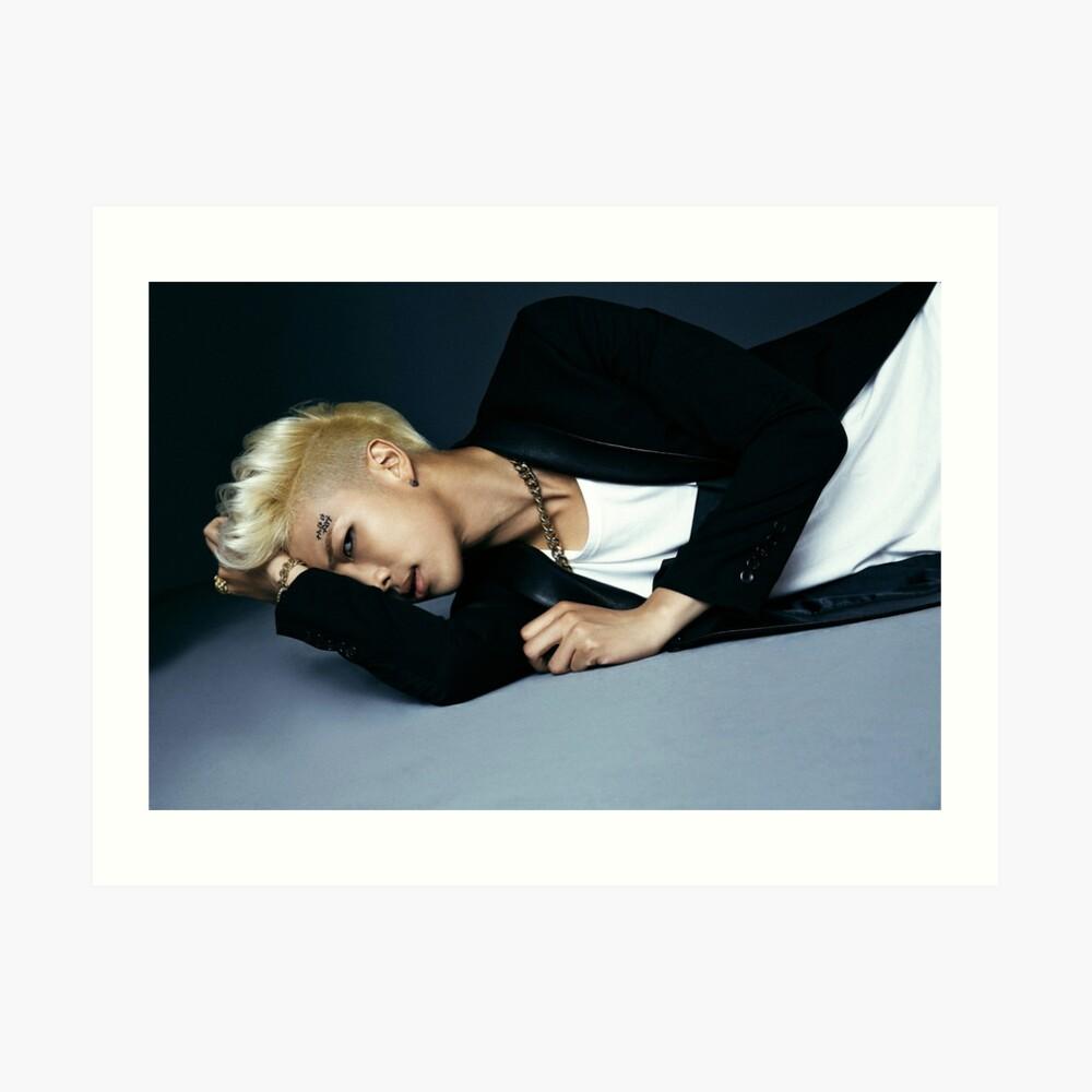 BTS DARK & WILD RM Kunstdruck