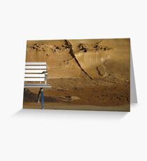 Metalic constrast Greeting Card