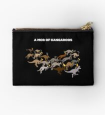 A Mob of Kangaroos Studio Pouch