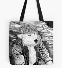 Old Wolf Tote Bag