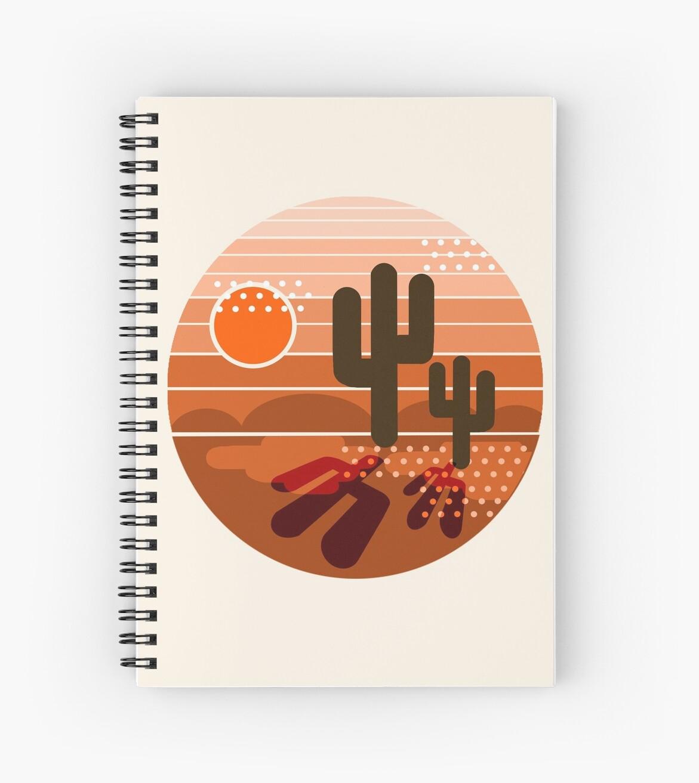 Cuadernos de espiral «Mightyfine - retro del retro de los años 70 ...