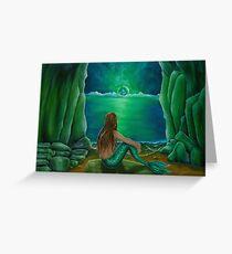 Mermaid's Cave Greeting Card