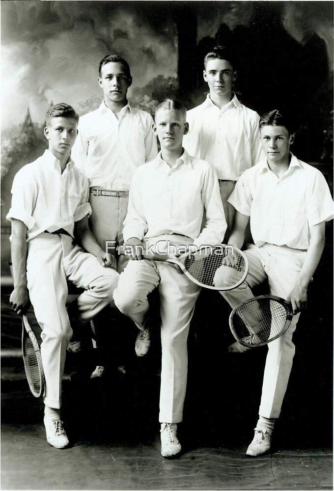 1921 Tennis Team by FrankChapman