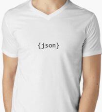 JSON Men's V-Neck T-Shirt