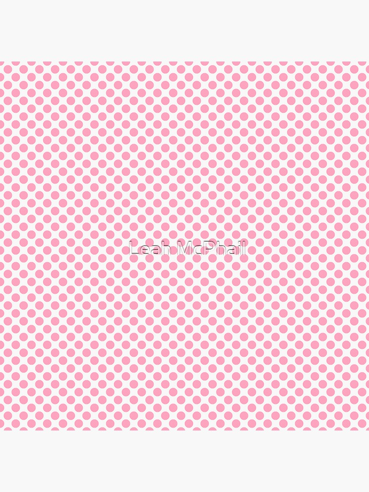 Pink Polka Dots  by LeahMcPhail